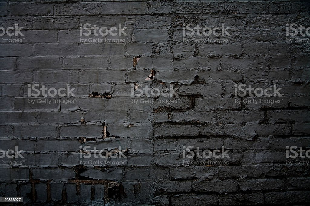 dark bricks stock photo