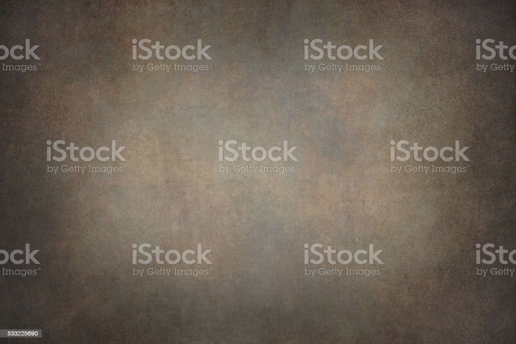 Dark brown canvas hand-painted backdrops stock photo