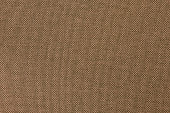 Dark brown fabric texture for background and design art work with seamless pattern of natural textile.