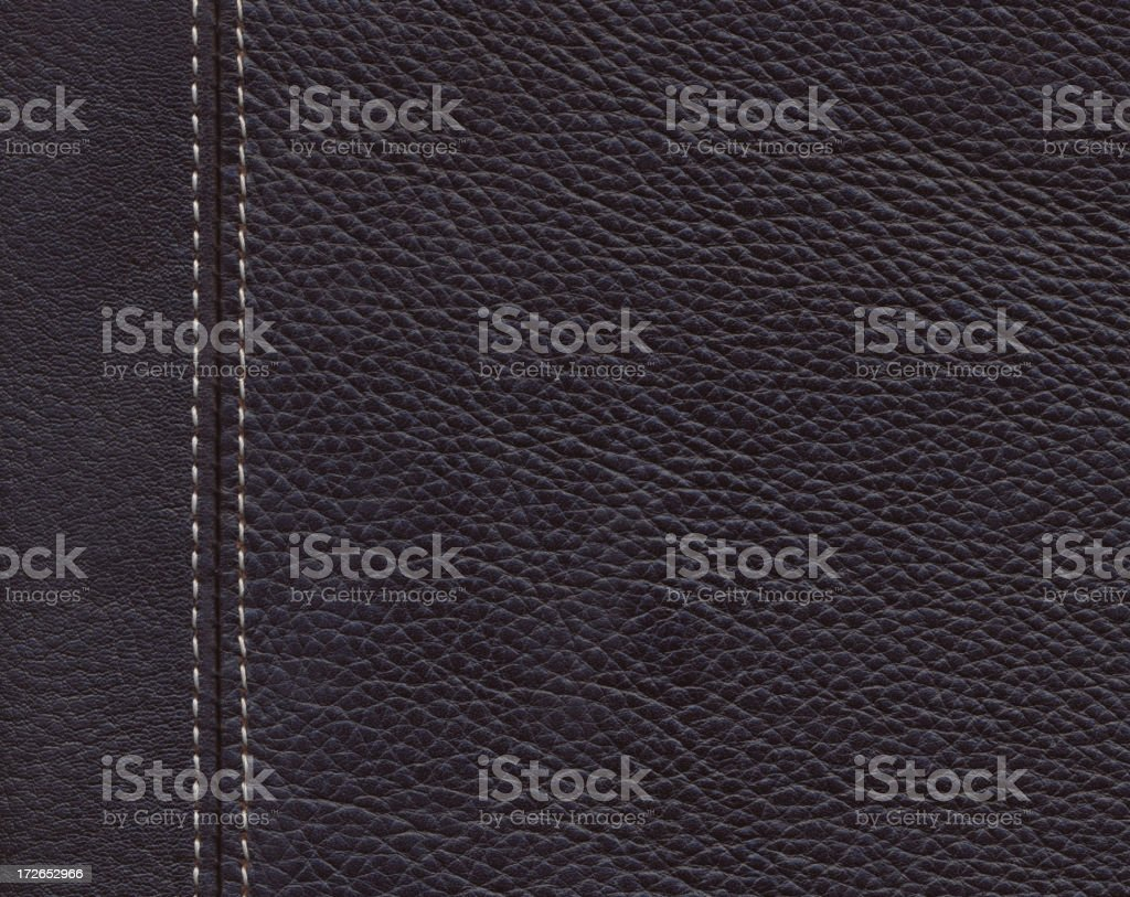 XXL Dark brown leather stock photo