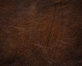 dark brown leather texture