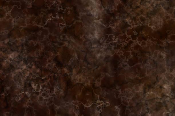 Dark Brown Marble Texture stock photo