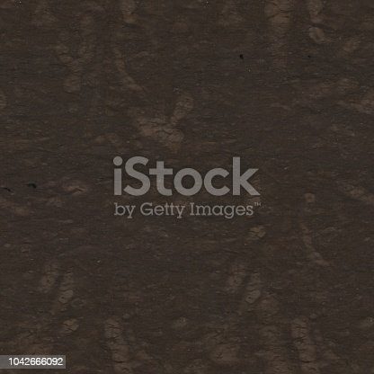 Dark brown marble texture with easy pattern. Seamless square background, tile ready. High resolution photo.