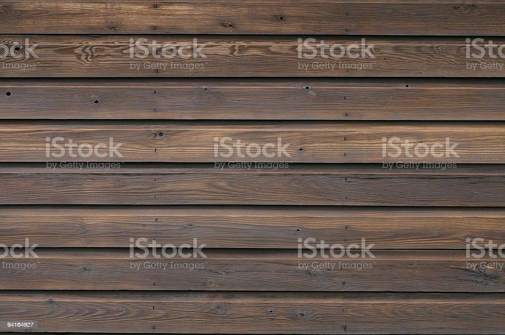 Panneaux en bois marron foncé - Photo