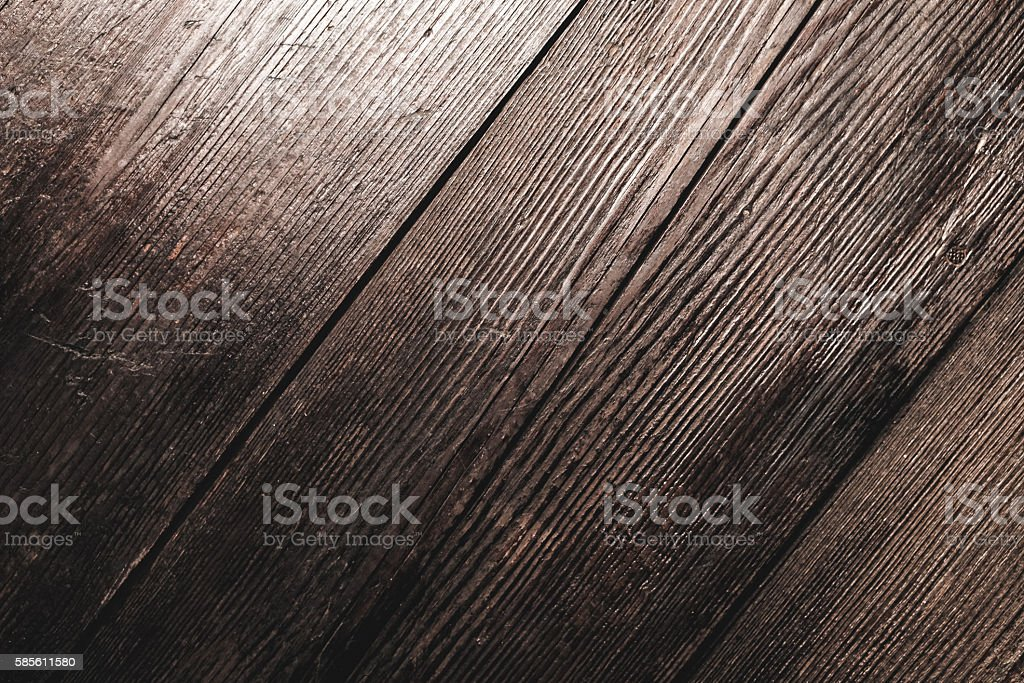 Dark brown wood stock photo