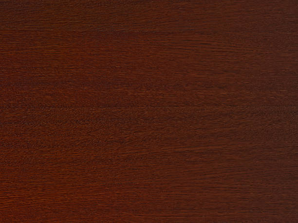 dunkelbraunem holz textur - mahagoni braun stock-fotos und bilder