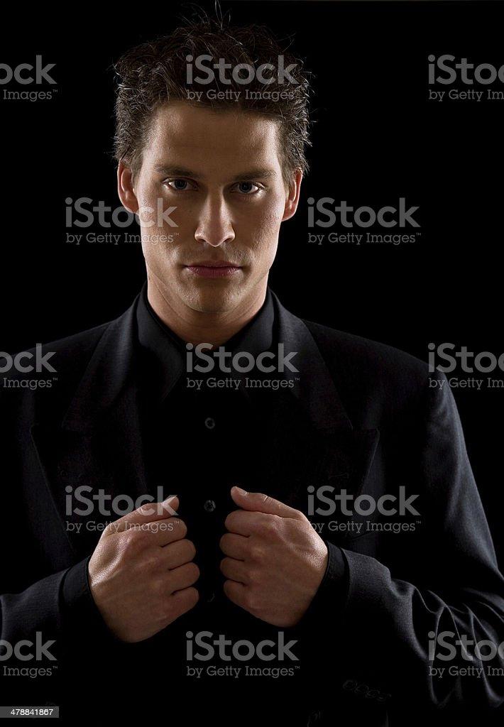 Dark Business royalty-free stock photo