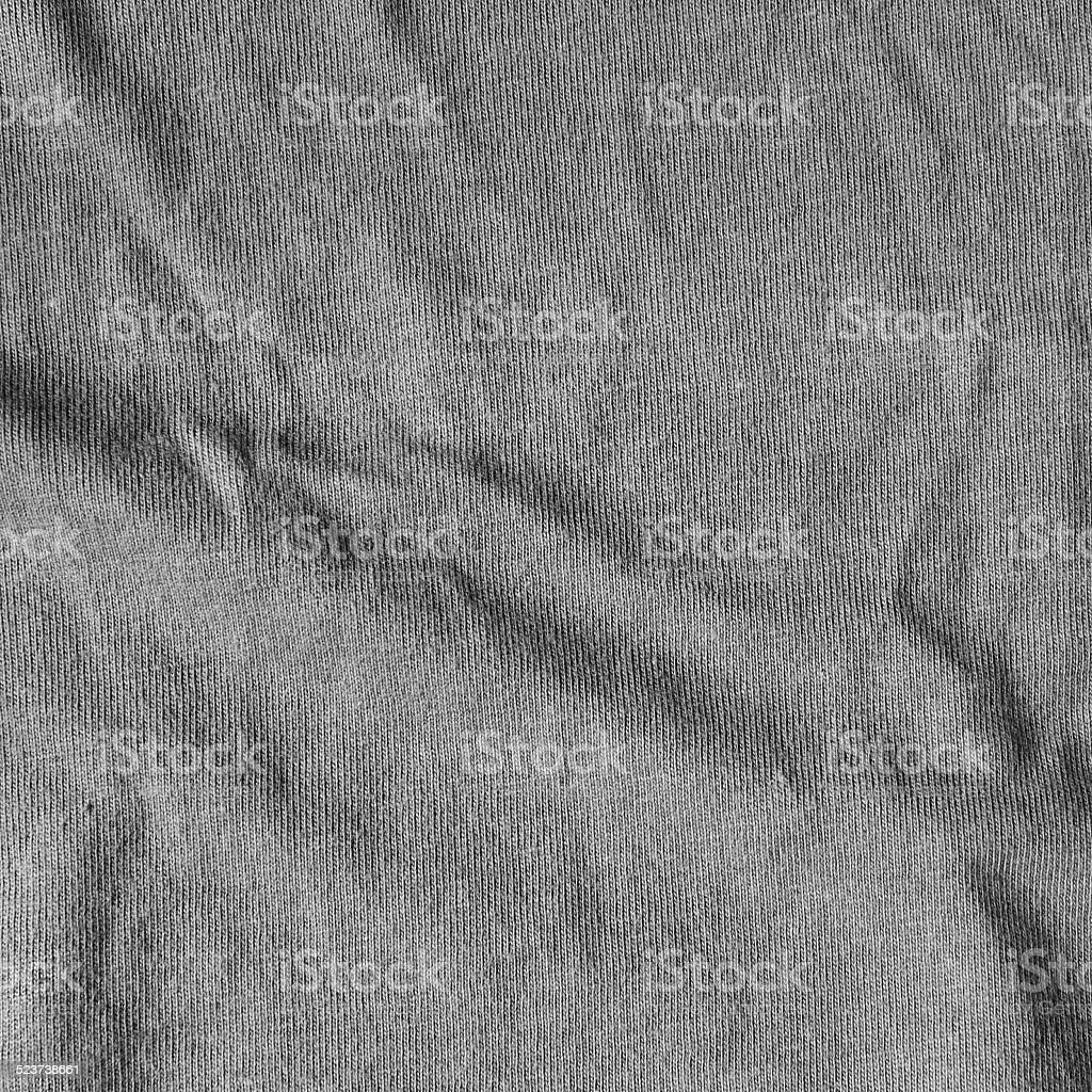 Dark canvas texture with delicate striped pattern. stock photo