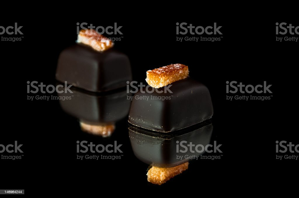 Dark Chocolate royalty-free stock photo