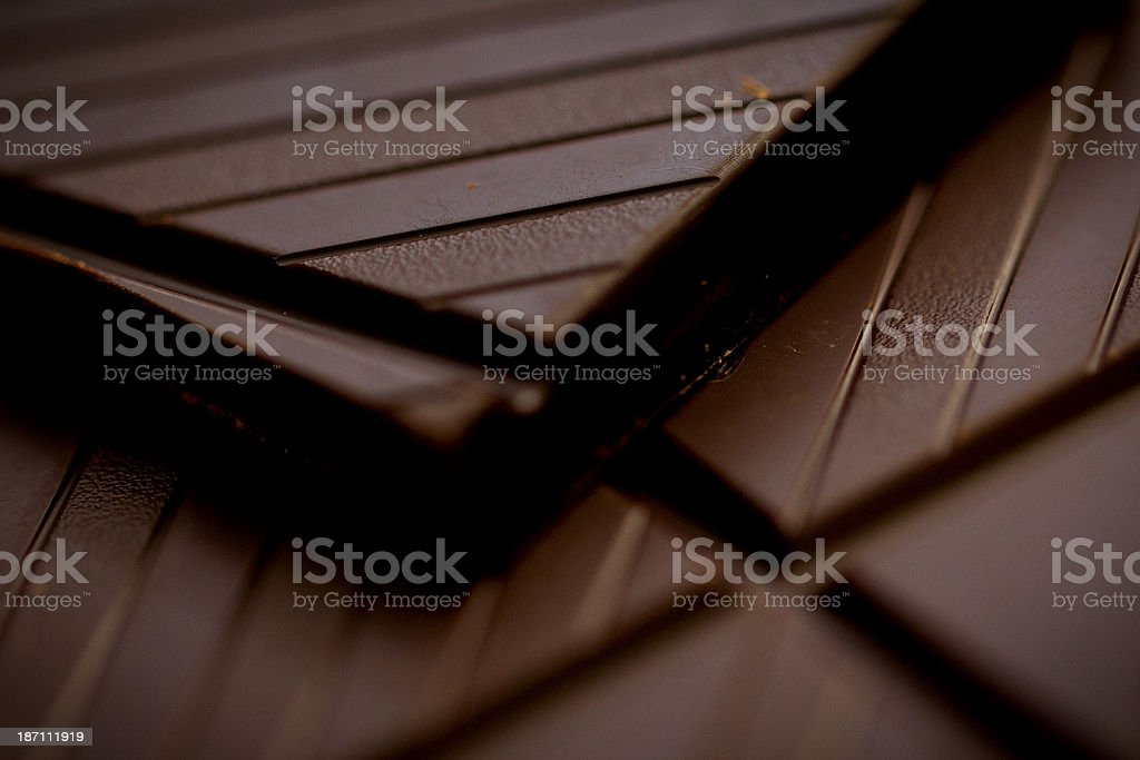 Dark chocolate. royalty-free stock photo