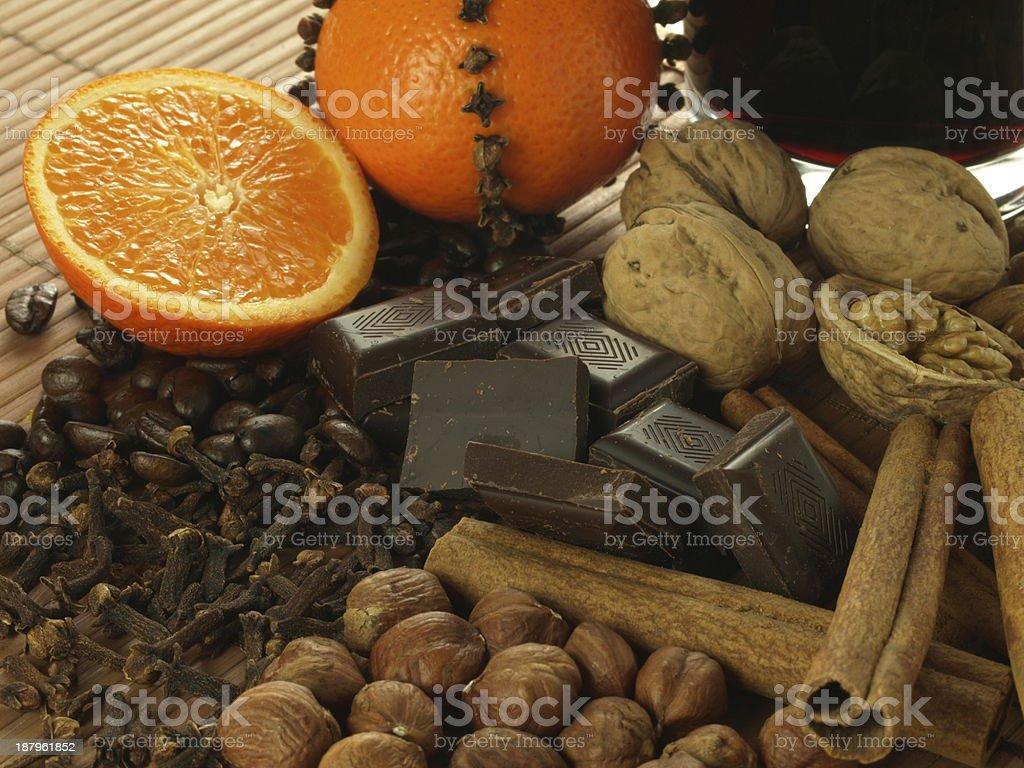 chocolate negro - Foto de stock de Avellana libre de derechos