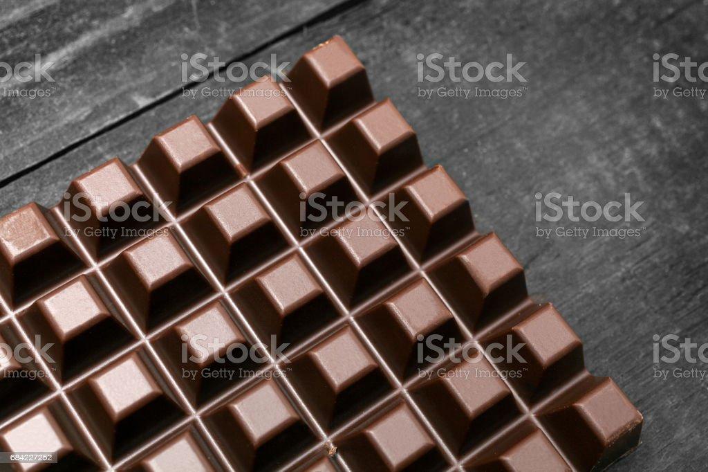 Dark chocolate photo libre de droits