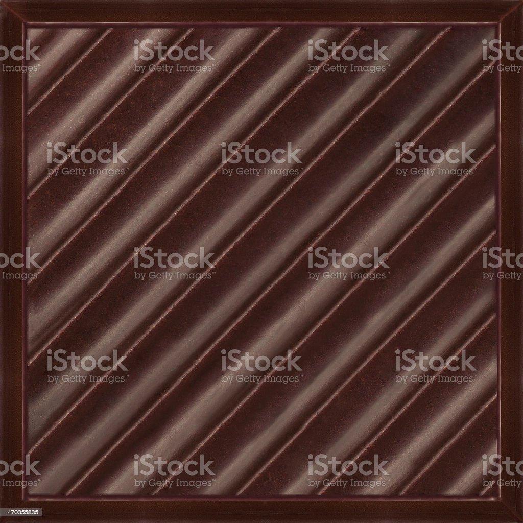 Dark chocolate pure royalty-free stock photo