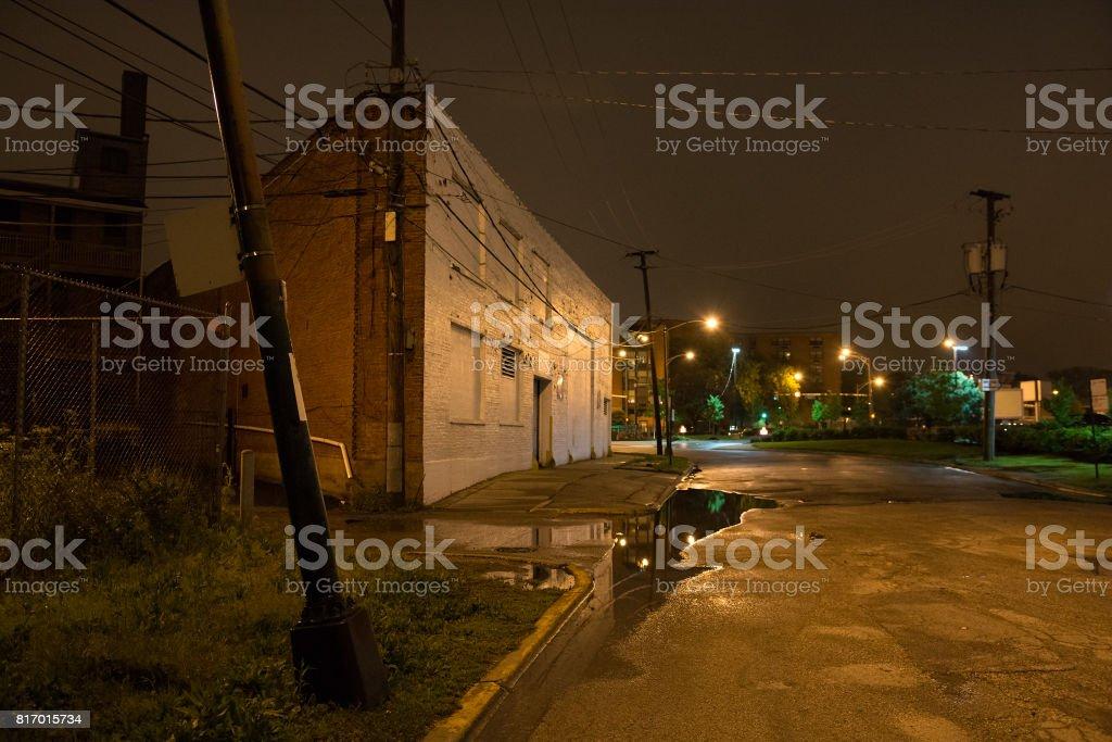 黑暗城市角落圖像檔