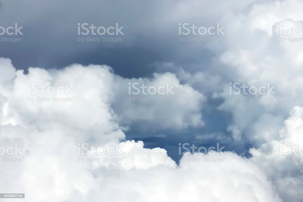 Dark Cloud before the Thunder storm. royalty-free stock photo
