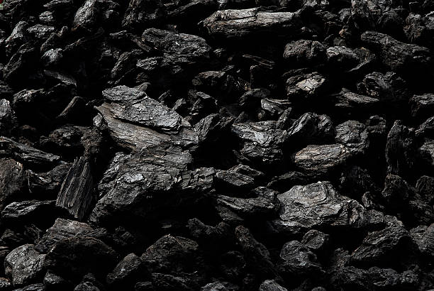 dunkle coal - carbon stock-fotos und bilder