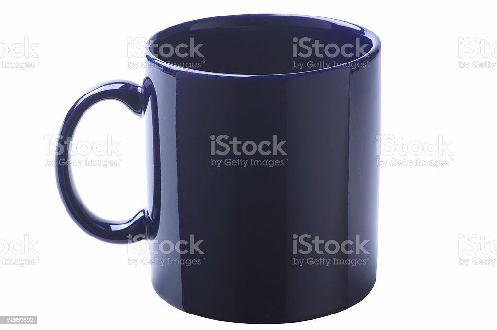 Dark Coffee Mug stock photo