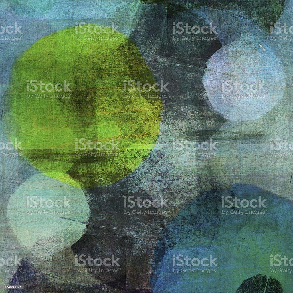 Dark Colored Circles royalty-free stock photo