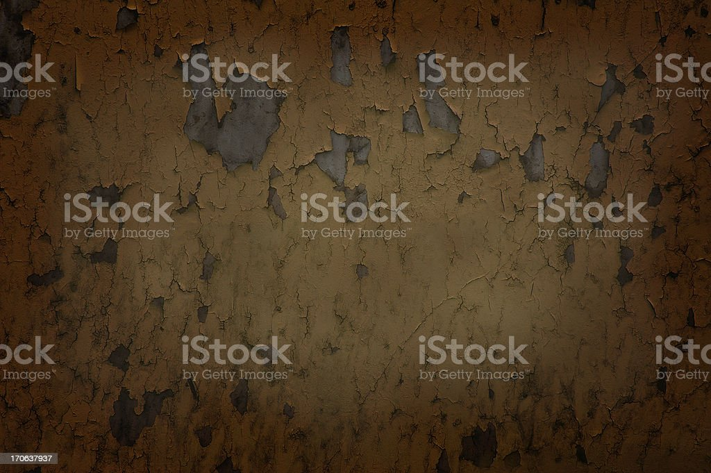 Dark, colored, concrete wall royalty-free stock photo