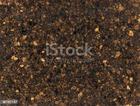 istock Dark corkboard texture 90161147