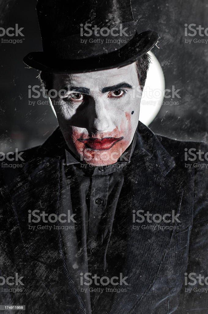 Dark demon royalty-free stock photo