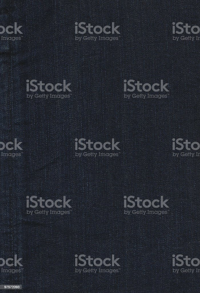 Dark Denim Jeans Texture High Quality Background royalty-free stock photo