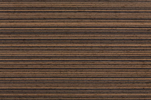 dark ebony veneer texture, natural wooden backghound - palisade boundary stock photos and pictures