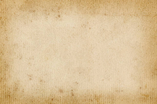 dark edged old paper - sepia stock photos and pictures