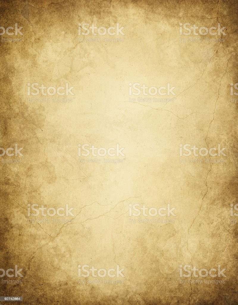 Dark Edged Paper stock photo