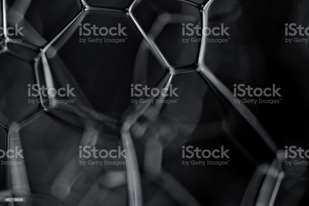 Dark energy black and white concept image stock photo