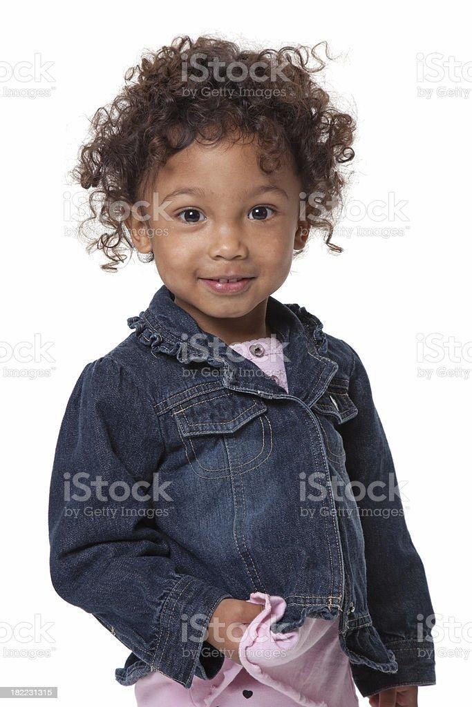 Dark Eyed Cutie royalty-free stock photo