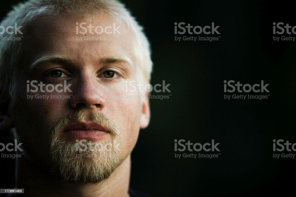 dark face royalty-free stock photo