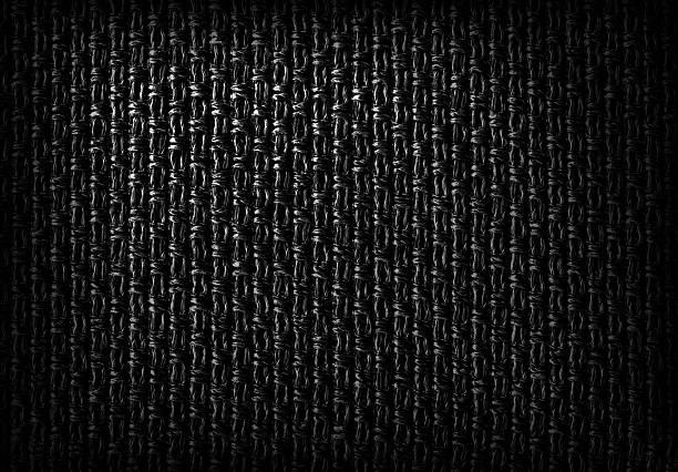 Dunkle faserige Textil-Hintergrund – Foto