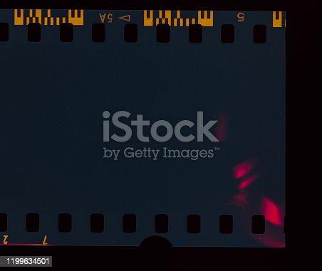 1152194399 istock photo Dark Film Light leak 1199634501