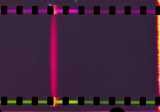 Dark Film Strip Background stock photo