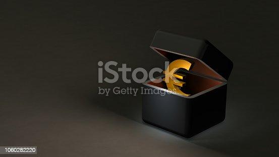 istock Dark funds to be stored in the underground economy. 1060282220