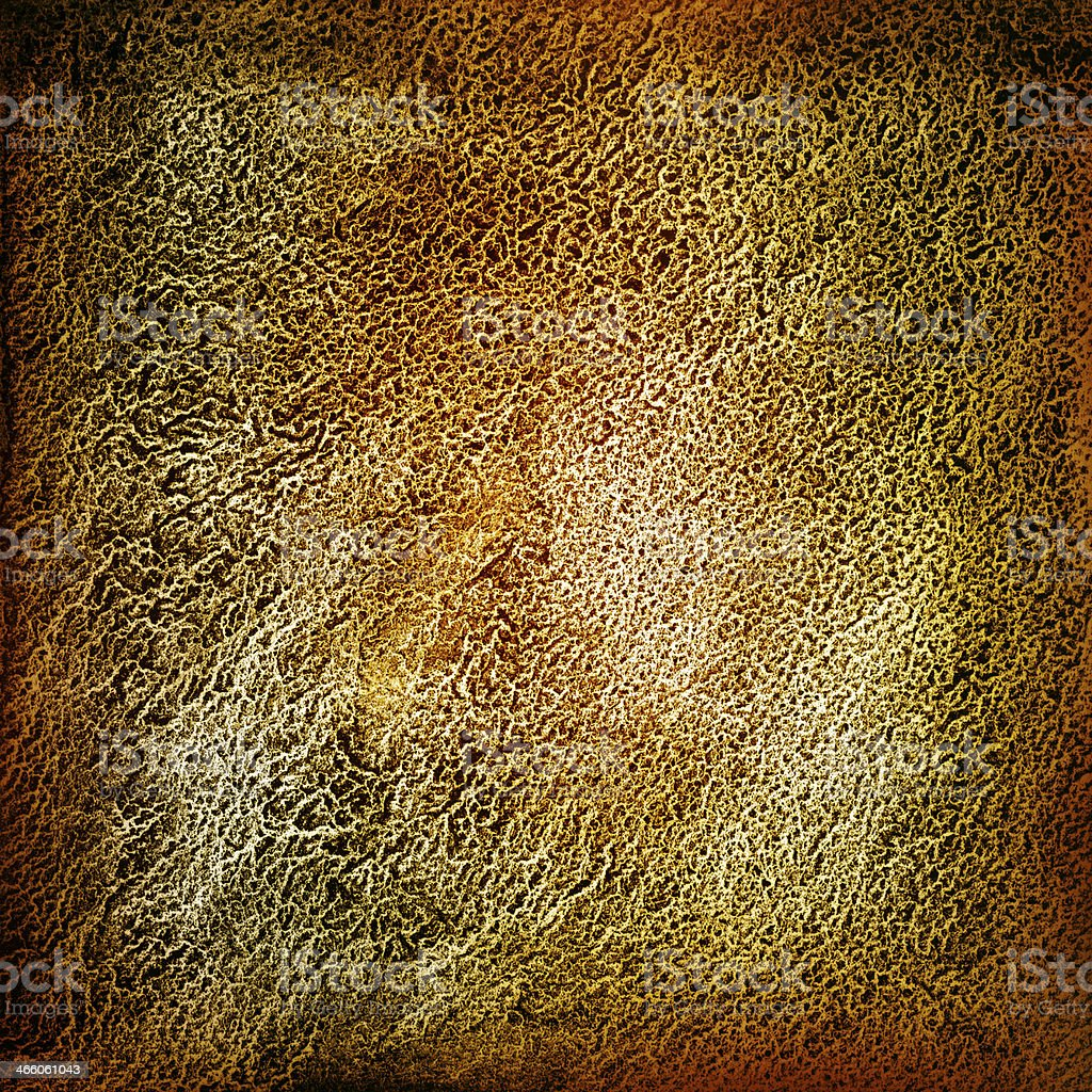 Dark Gold Black Grainy Grunge Textured Watercolor Background royalty-free stock photo