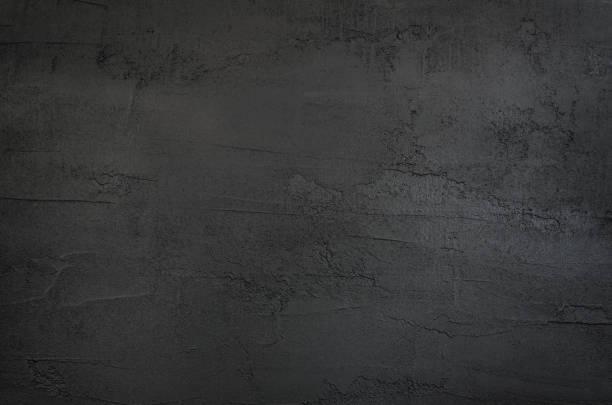 sfondo in cemento texture grigio scuro e nero - calcestruzzo foto e immagini stock