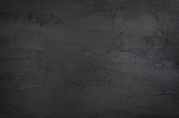 dark gray and black texture concrete background - paint texture stock pictures, royalty-free photos & images