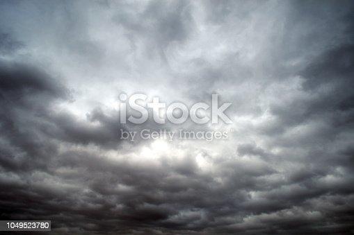 Dramatic sky.