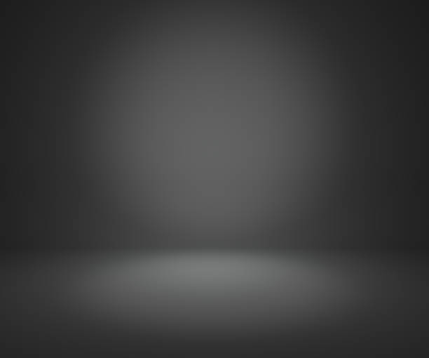 dark gray gradient abstract background stock photo
