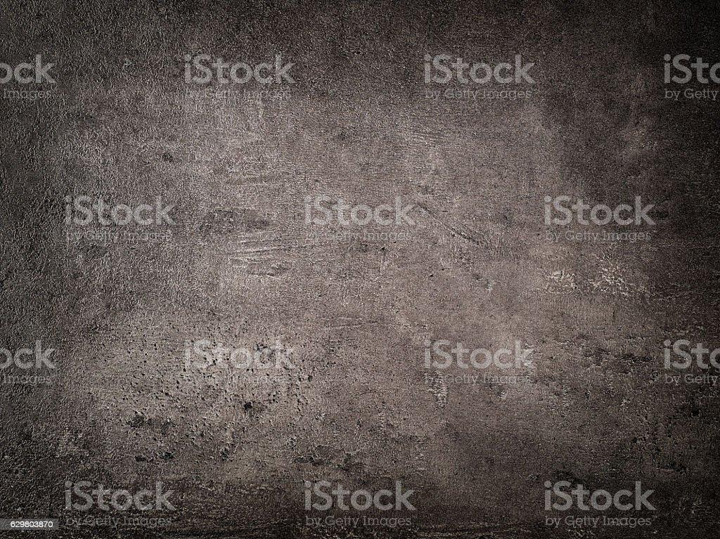 dark gray kitchen table stock photo