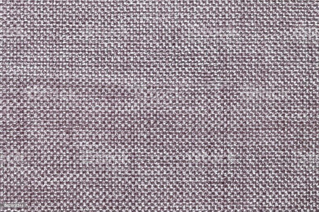 Fondo de materia textil gris oscuro con patrón checkered, closeup. Estructura de la macro de tela. foto de stock libre de derechos
