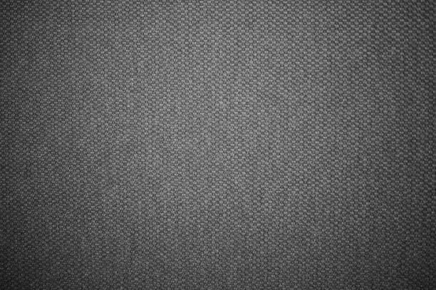 Dark gray textile pattern structure macro stock photo