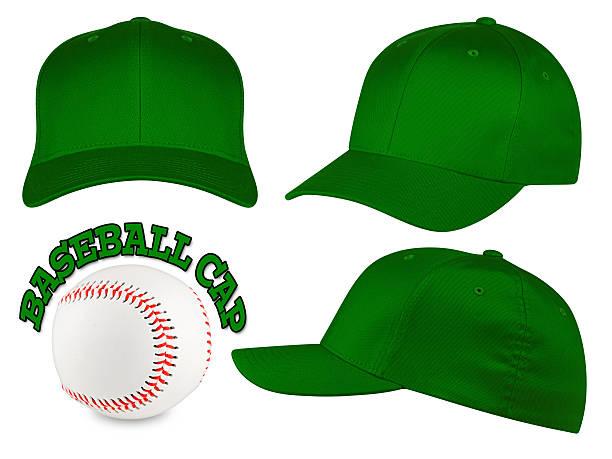 baseball-Kappe mit dunkelgrünem – Foto