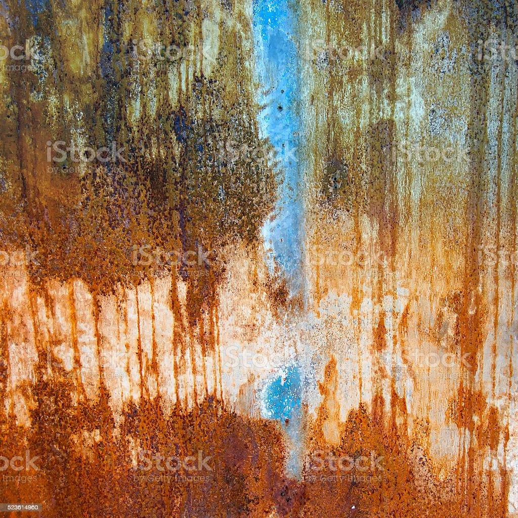 Dark green blue rusty texture stock photo