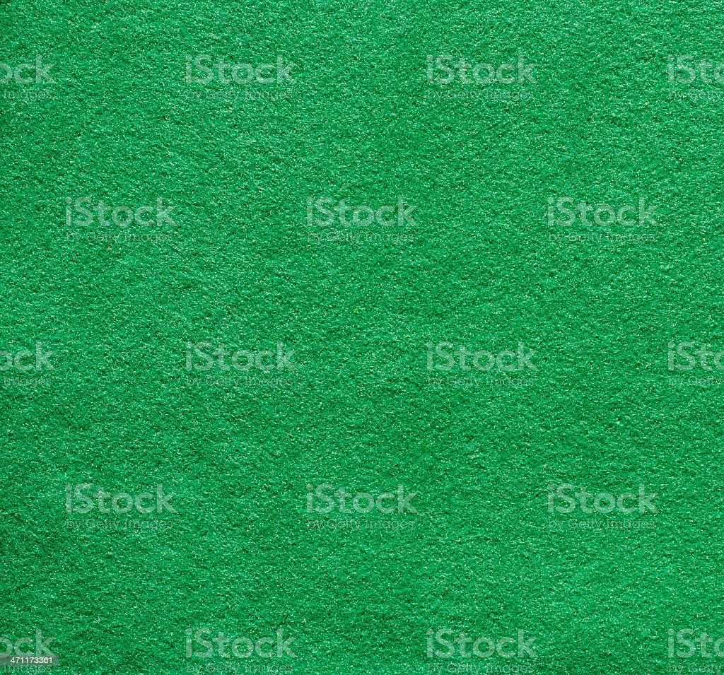 Dark green felt stock photo