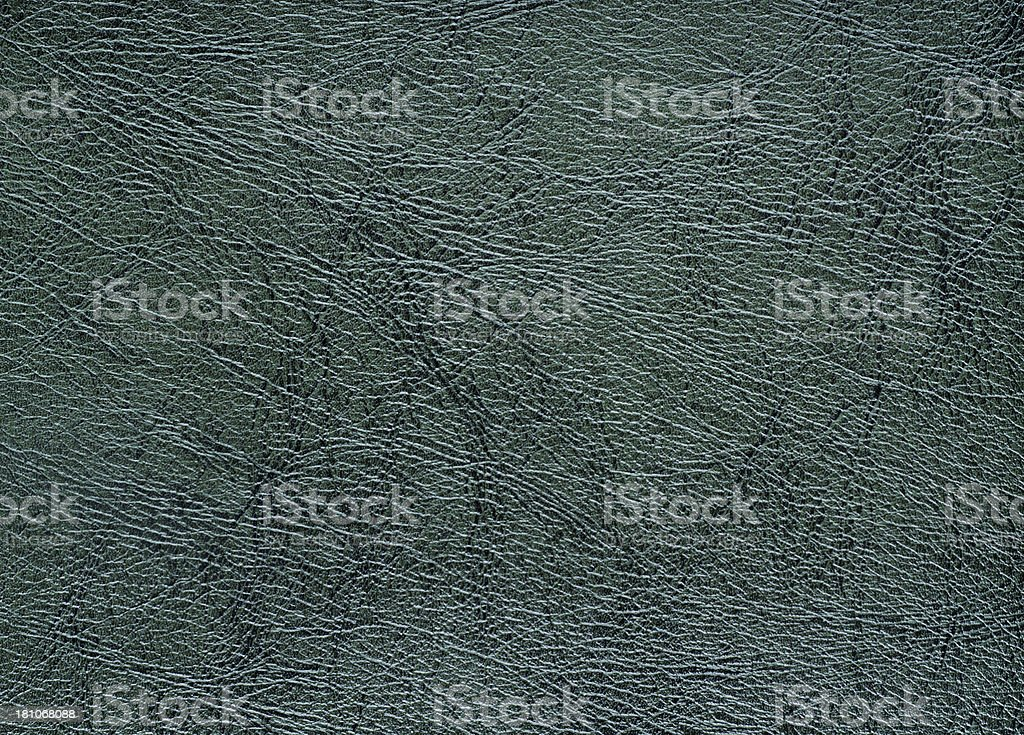 Dark Green Leather Background royalty-free stock photo