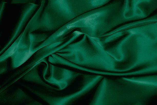 seide, dunkelgrün - satin stock-fotos und bilder