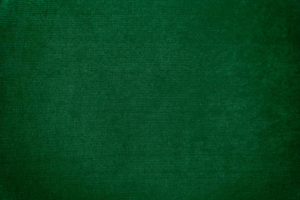 dark green velvet texture background - green background stock photos and pictures